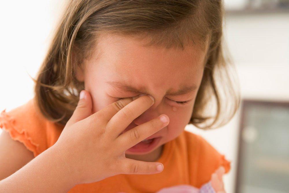 Плаксивость детей