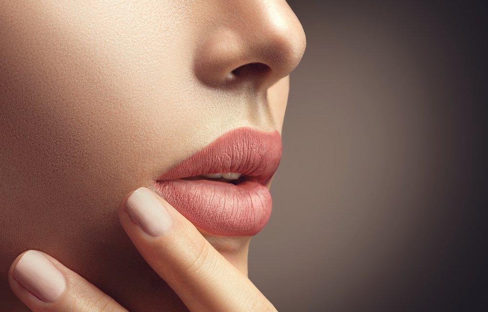 Накрасьте губы
