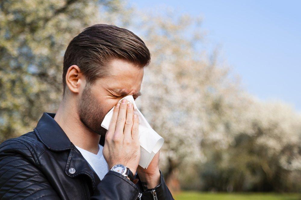 Невирусные причины: аллергия, пыль, табак