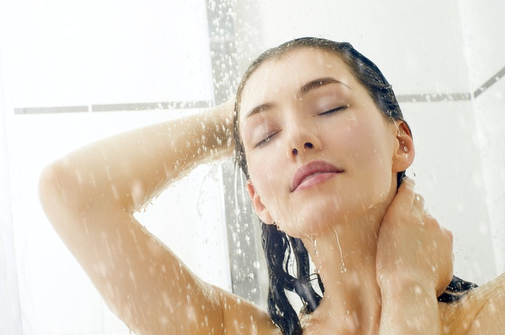 Привычка 7: холодный душ перед сном