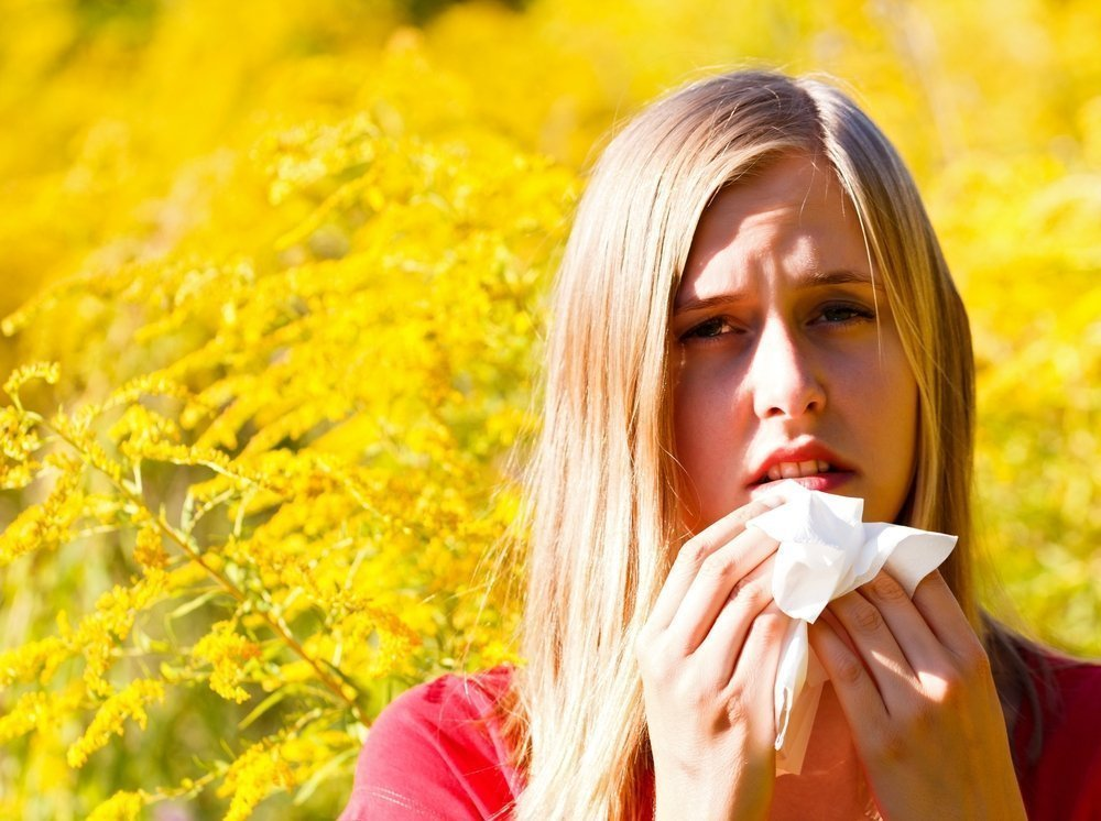 Пыльца растений – главная причина поллинозов