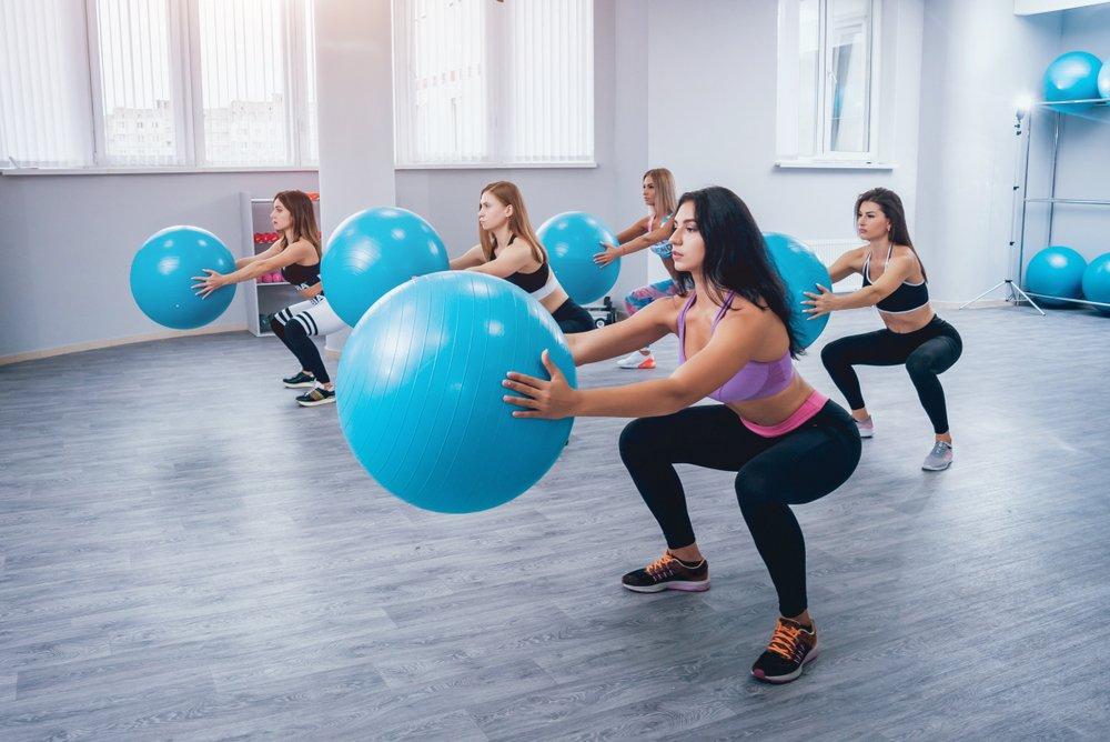Фитбол: польза для похудения и выбор мяча
