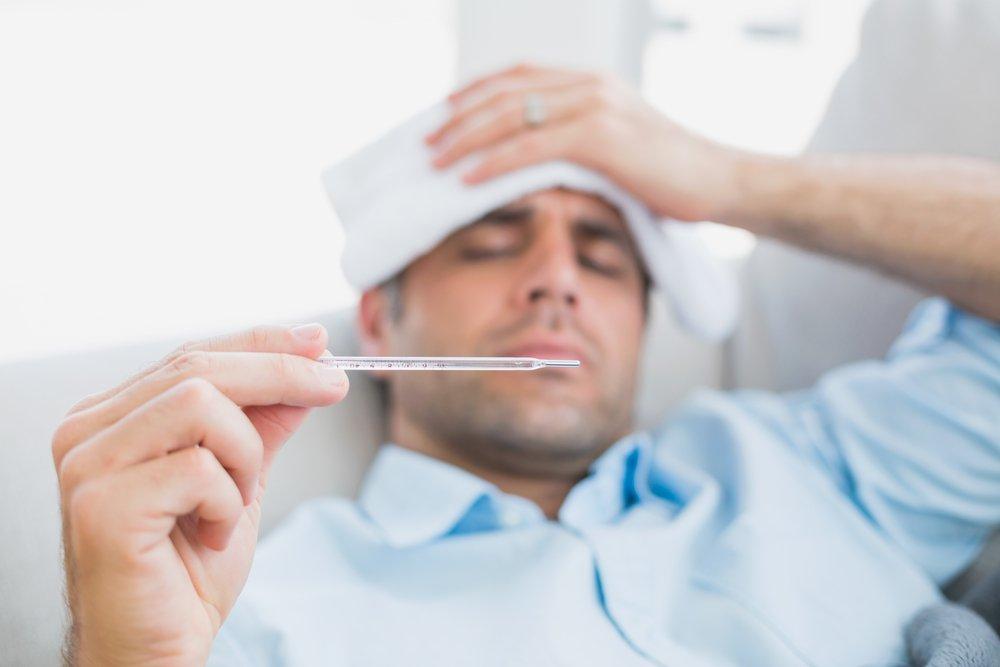 Пневмония — кашель и температура