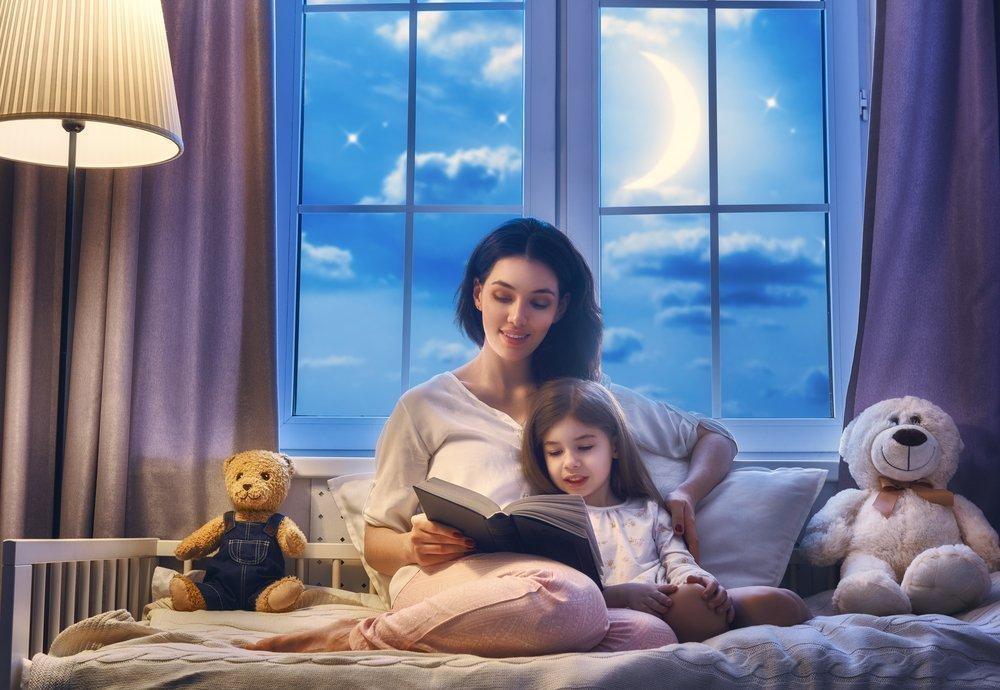 Дети: подготовка ко сну