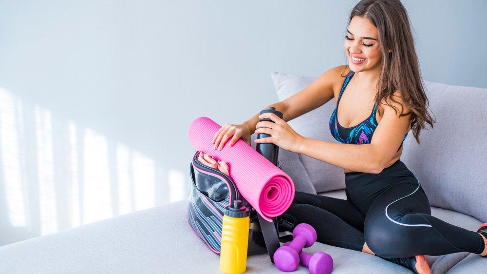 Без чего не обойтись на фитнес-тренировке?