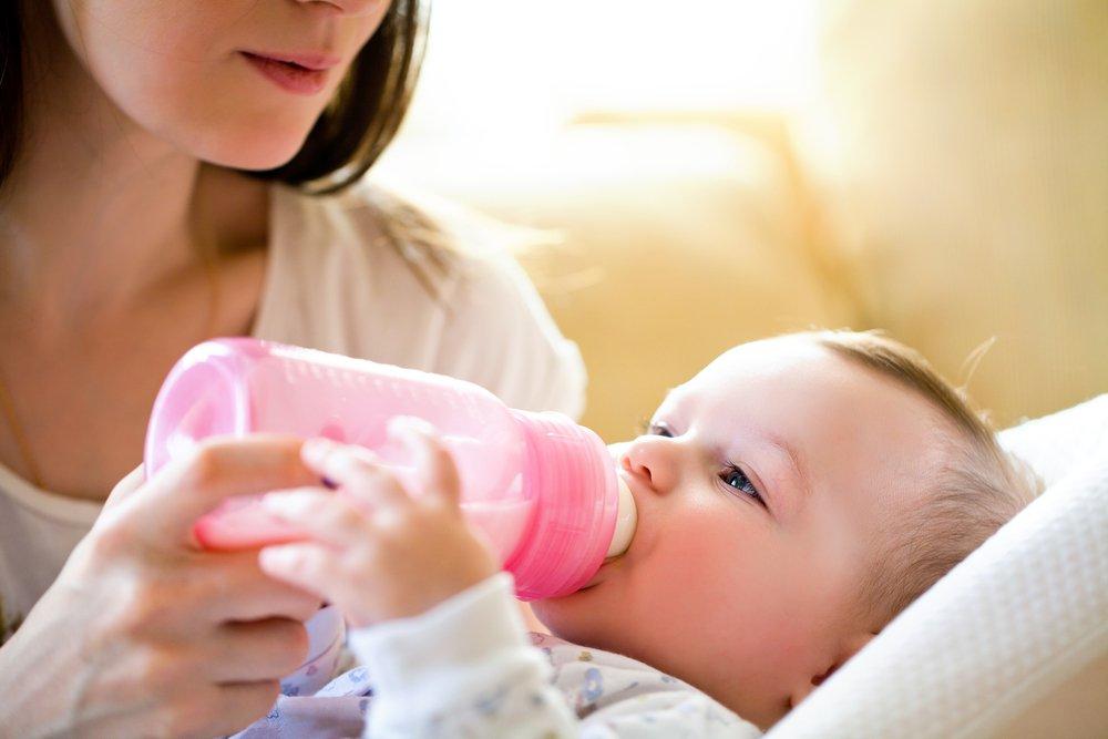 Здоровье малыша: когда нужна новая смесь?