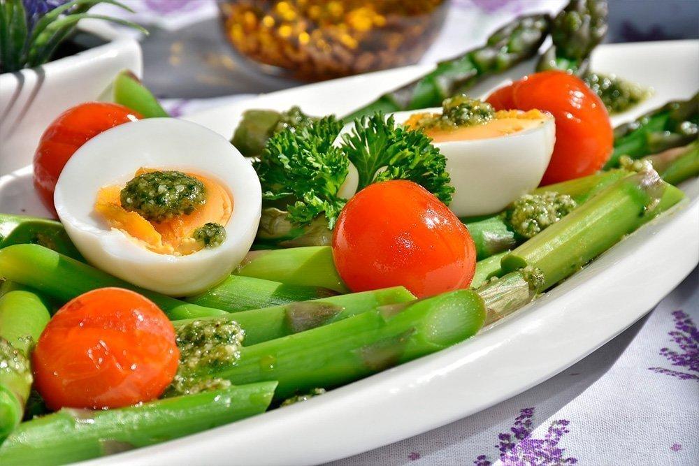 Рецепты диетических блюд со спаржей
