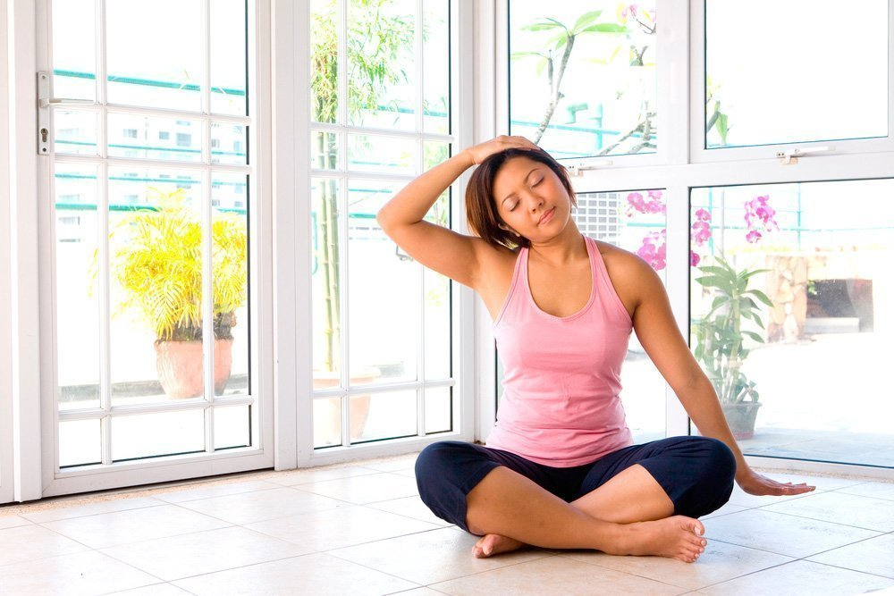 Фитнес для растяжки верхней части тела
