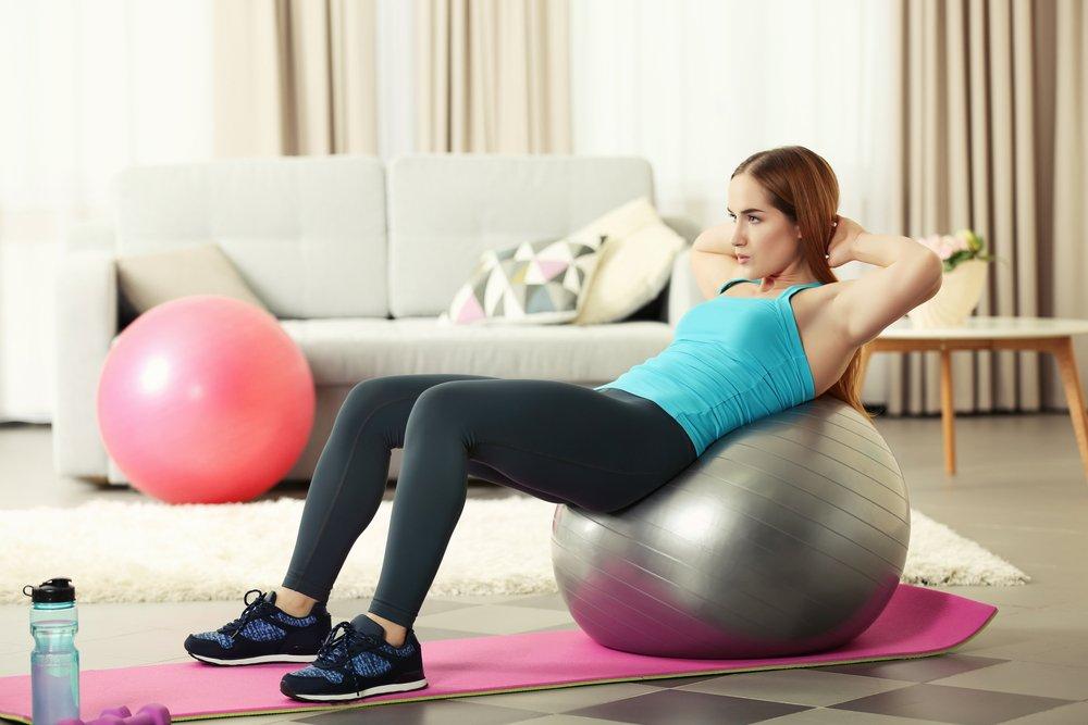 Комплекс упражнений для похудения боков и живота