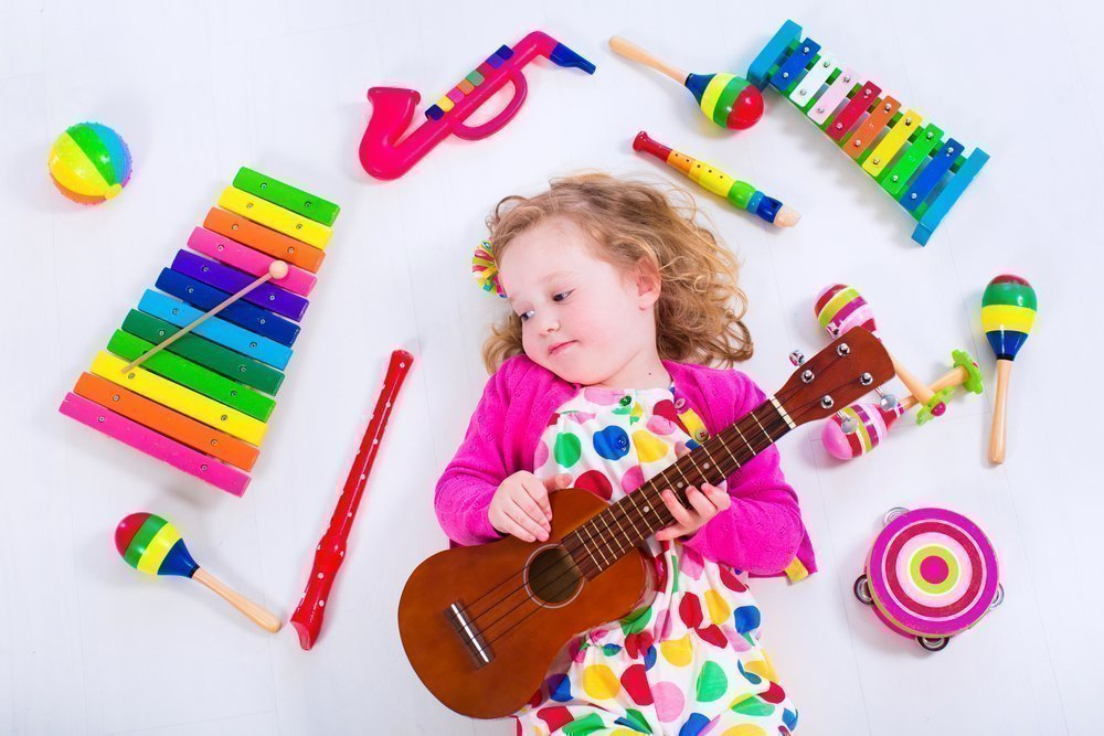 Музыкальные занятия для детей: советы родителям