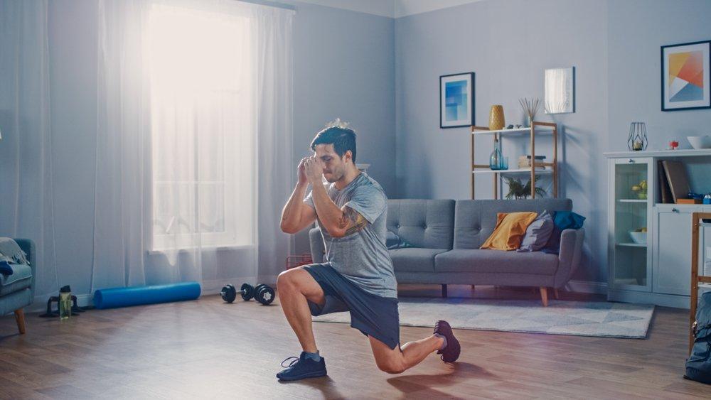 Упражнение 4: Выпады