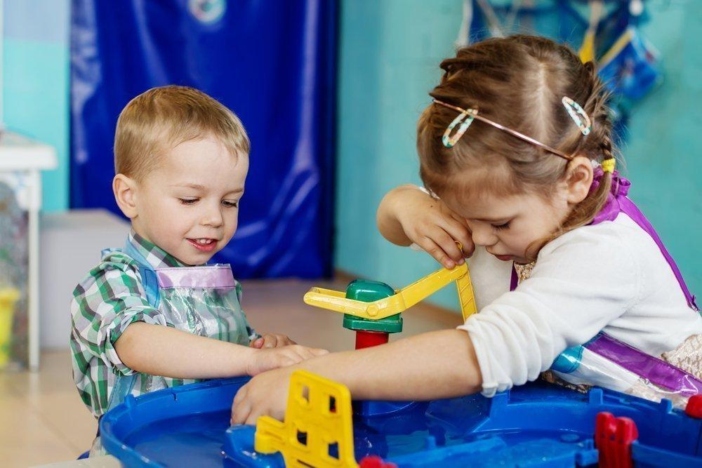 Дети и игры с водой