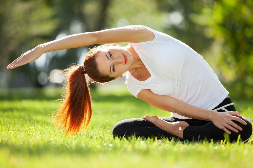 Упражнения для мышц живота, спины и бедер