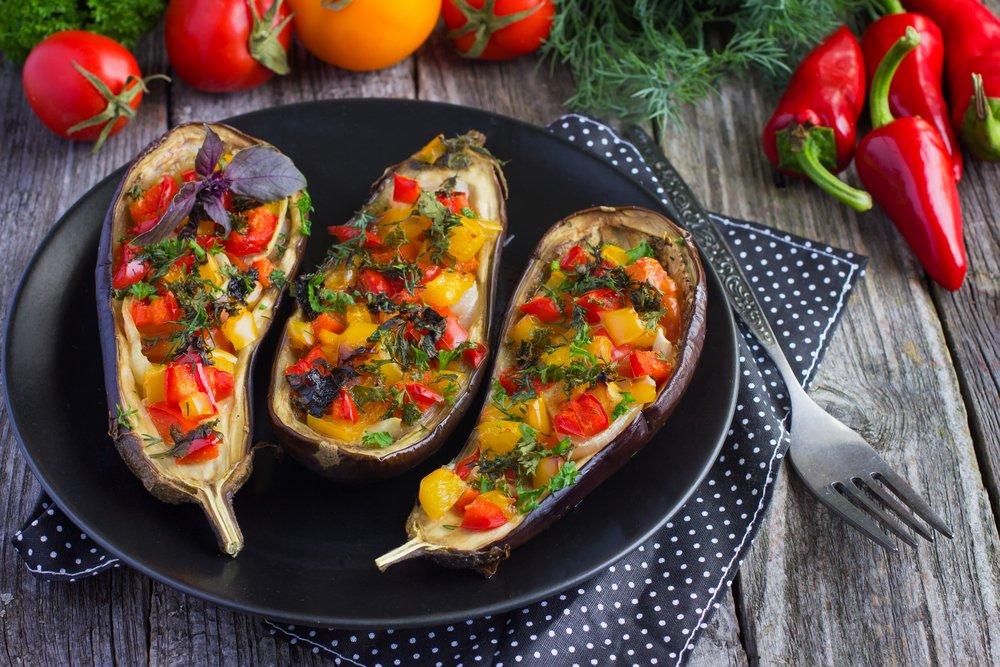 Вкусные рецепты: фаршированные баклажаны