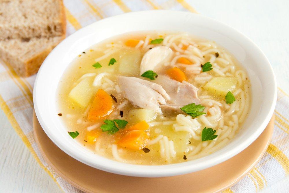 Легкие супы