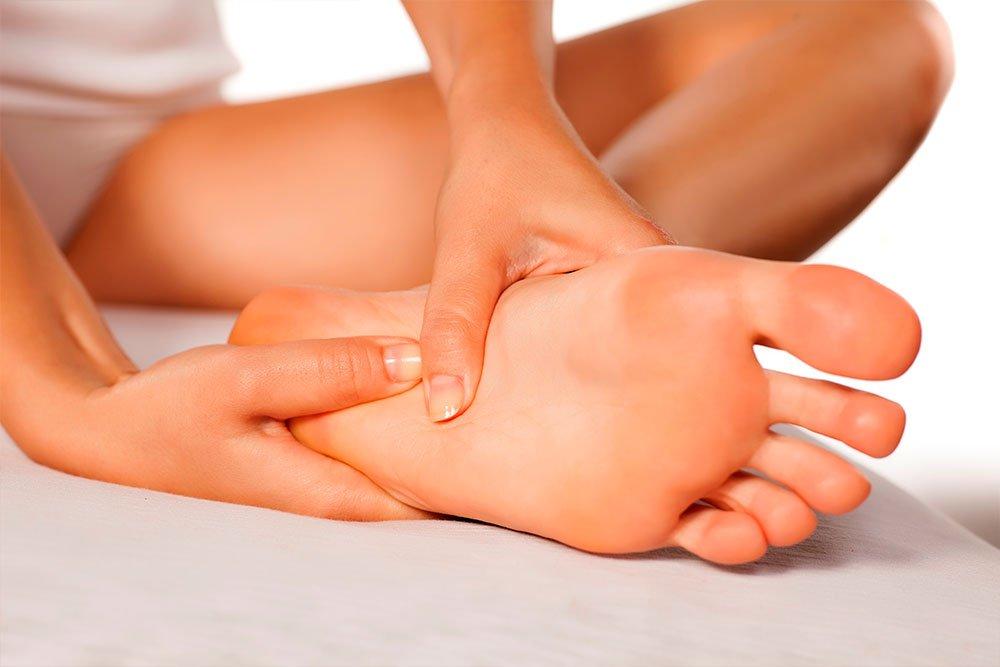 Массаж и гимнастика для ног для профилактики боли