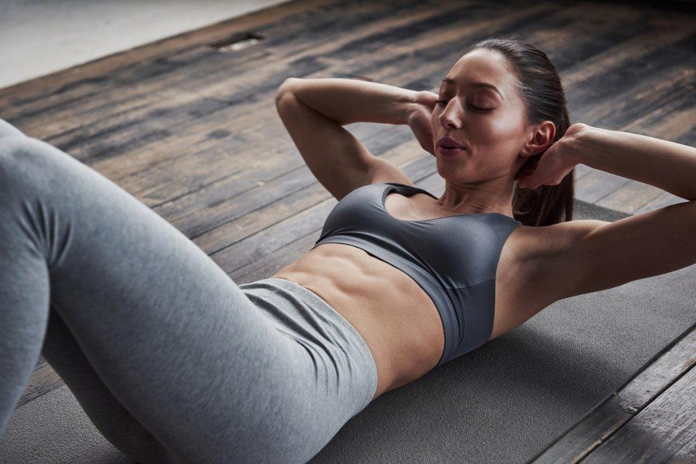 Упражнения для тонкой талии и рельефного пресса
