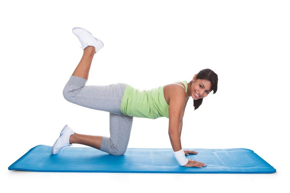 Фитнес для ягодиц: дополнительные упражнения