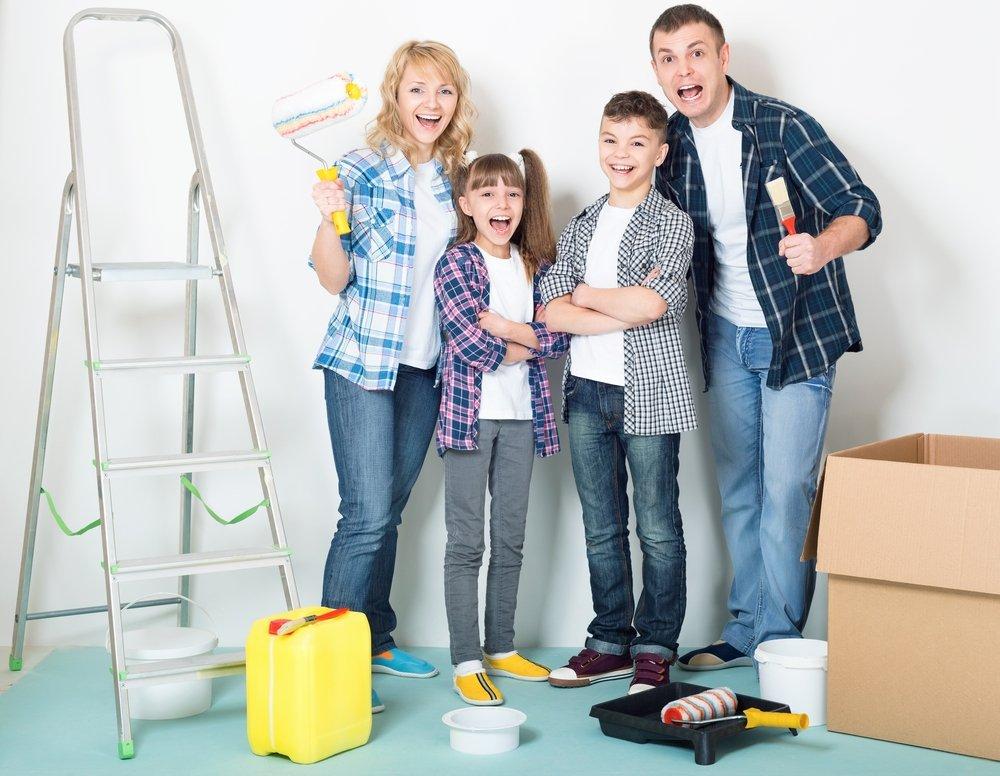 Какие трудности подстерегают тех, кто затеял ремонт в квартире с детьми