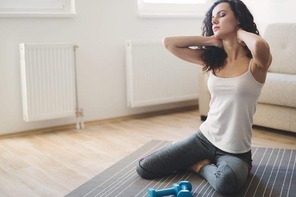 Правила составления программы фитнес-тренировок для усиления шейных мышц