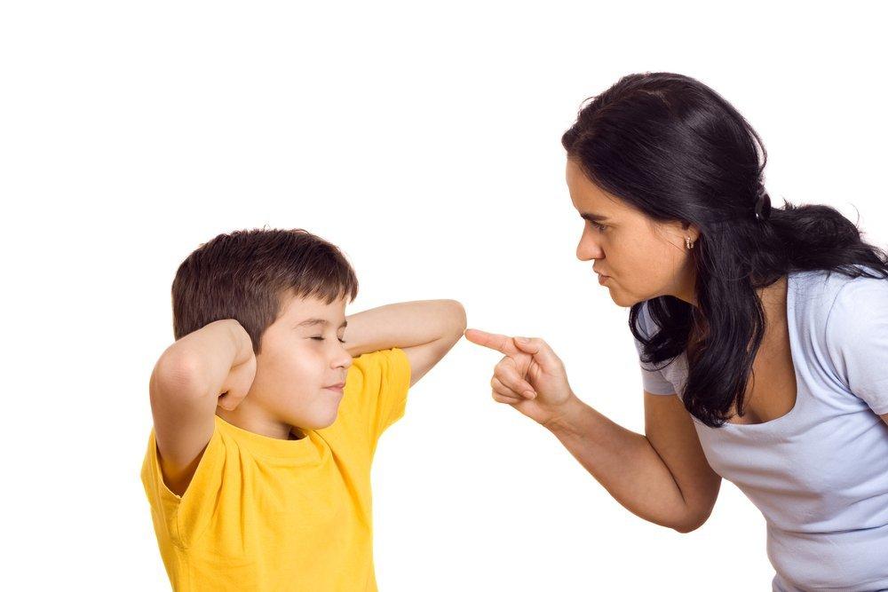 Остановка манипуляции ребенка