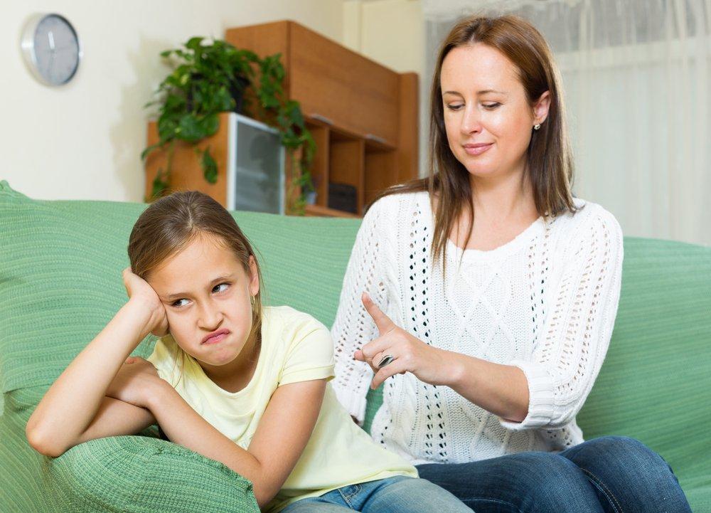 Капризы более взрослых детей