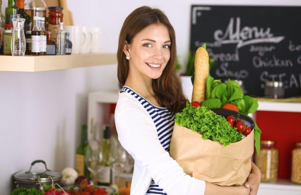 Принципы питания кормящей матери