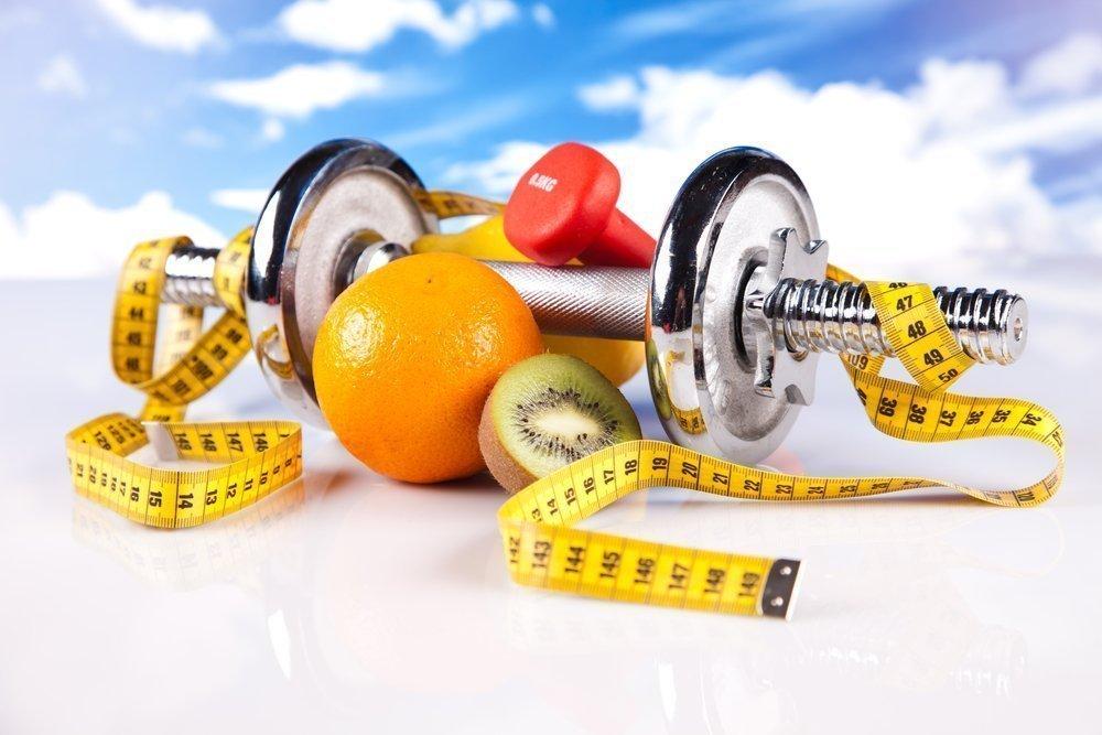 Занятия фитнесом для похудения и правильное питание