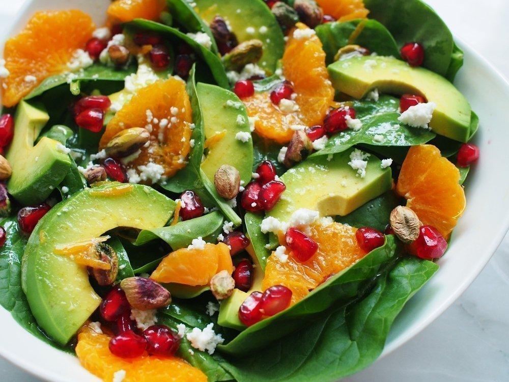 Рецепты салатов с цитрусовыми