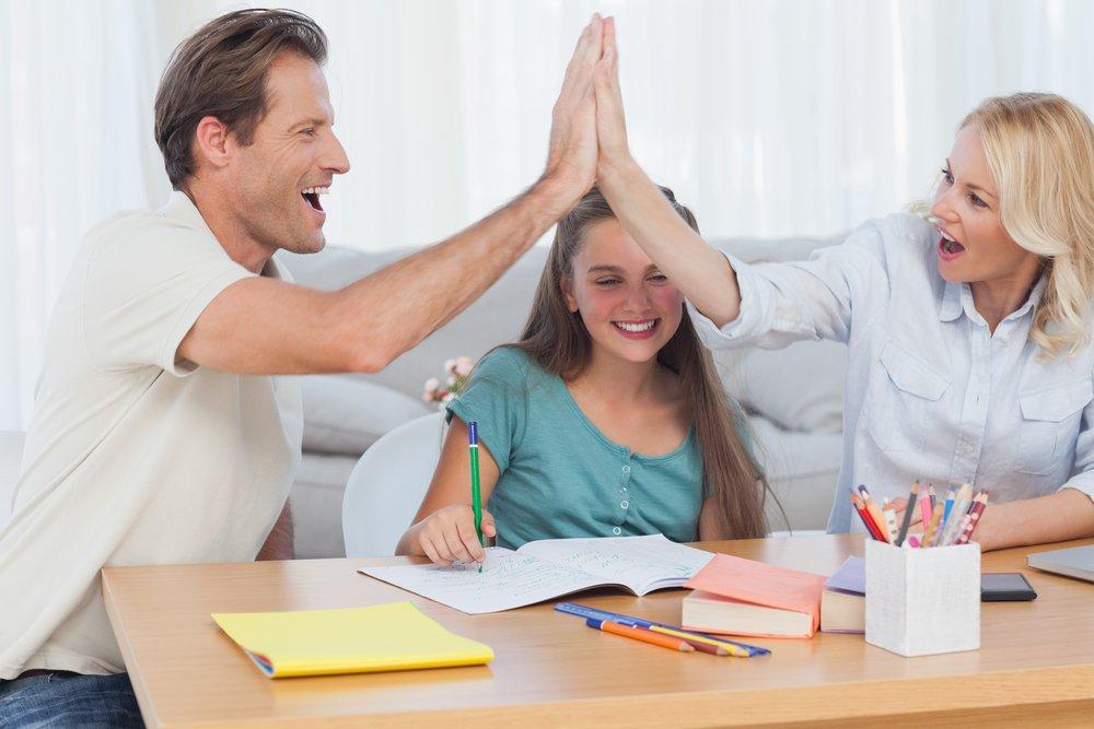 Как родители поддерживают детей?