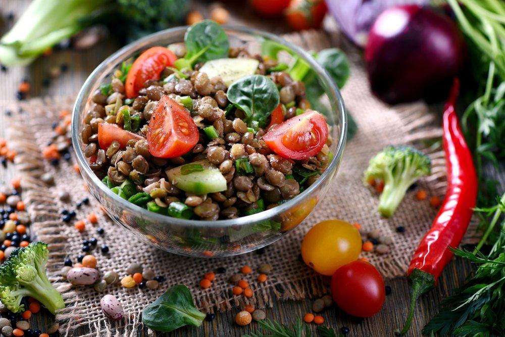 Правильное питание и теплые салаты