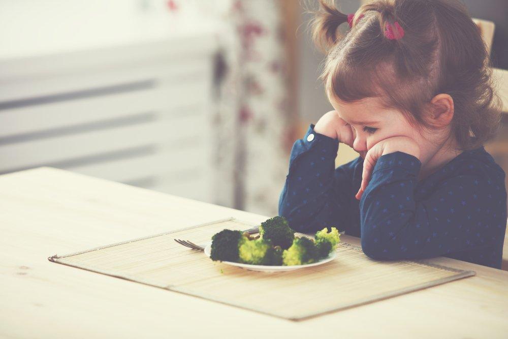 Причины отказа от питания у детей