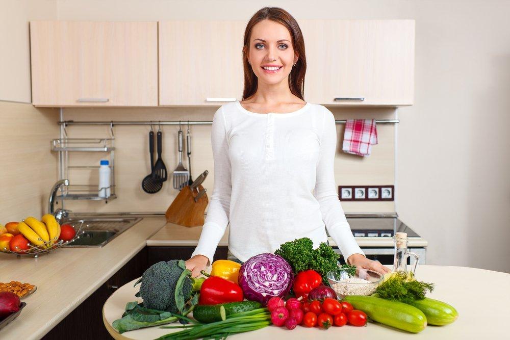 Фрукты и овощи при планировании