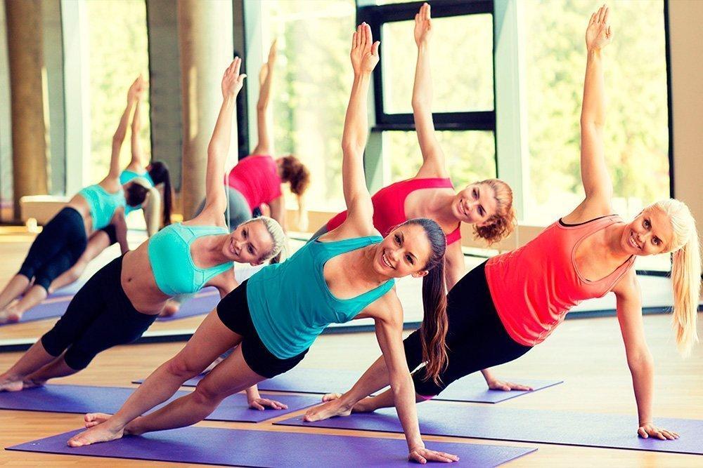 Фитнес-тренировка пресса по системе пилатес