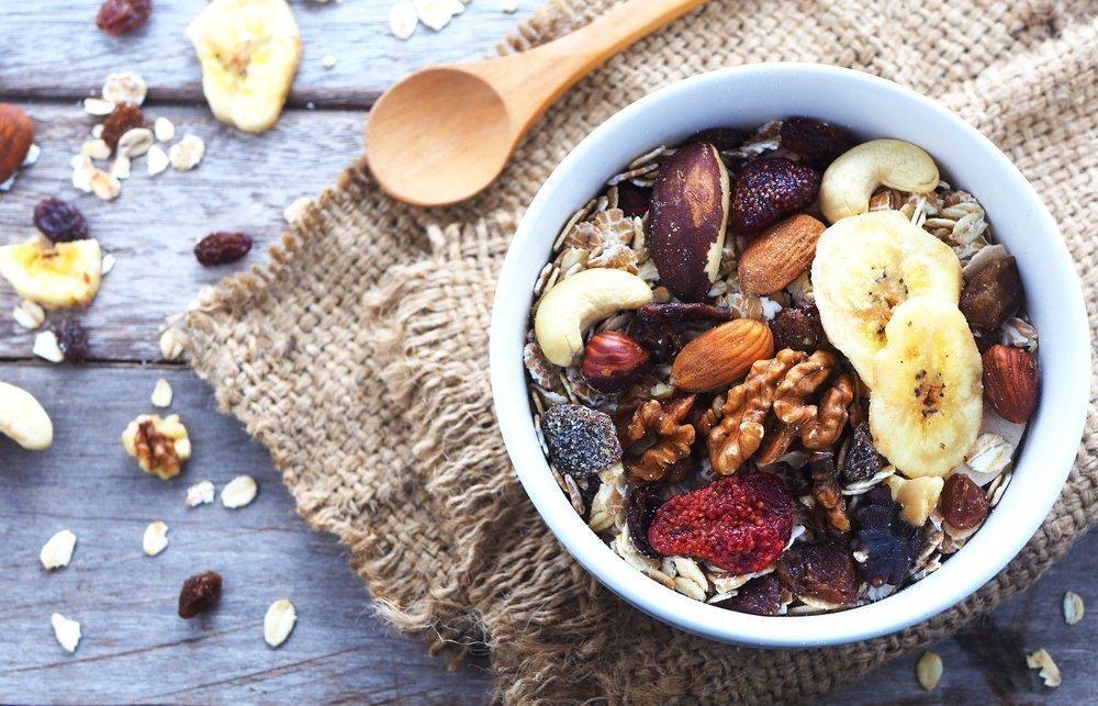 3. Сухие завтраки: мюсли, кукурузные хлопья