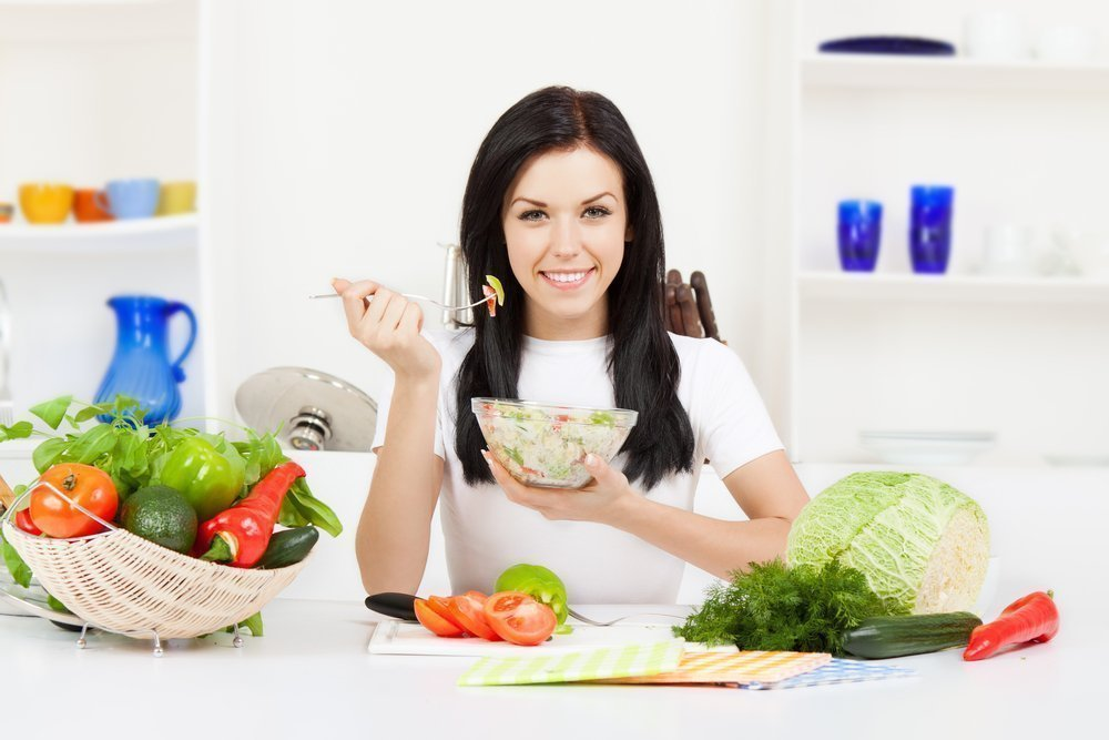 Питание для похудения женщин после тридцати лет