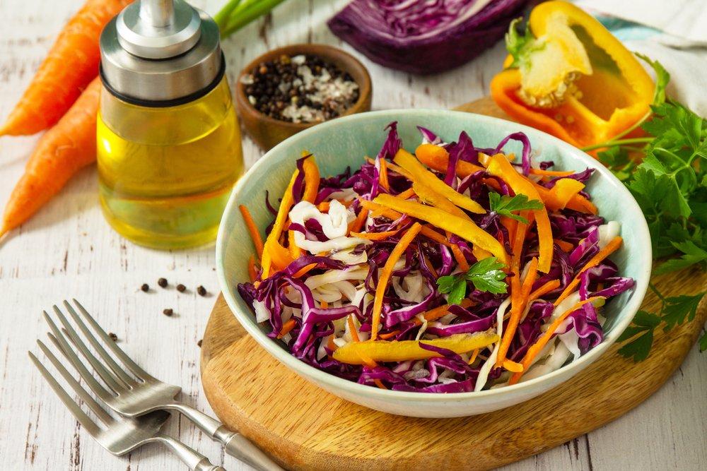 Классический рецепт капустного салата