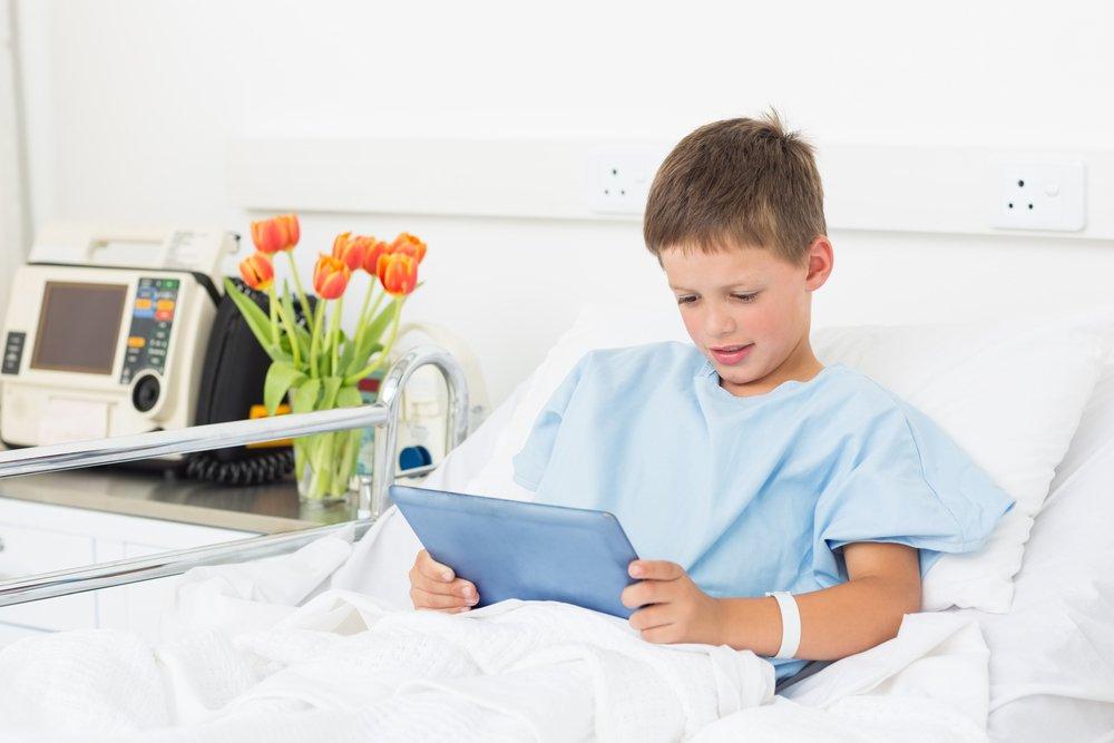 Чем занять больного ребенка