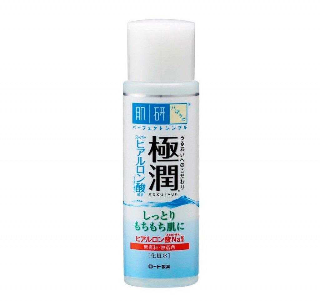 Увлажняющий гиалуроновый лосьон, HADA LABO Gokujyun Super Hyaluronic Acid Lotion Источник: dailybeautytalk.com