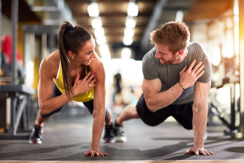 Фитнес-упражнение планка