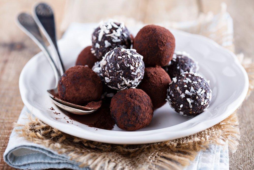 Полезное питание: конфеты из бобов
