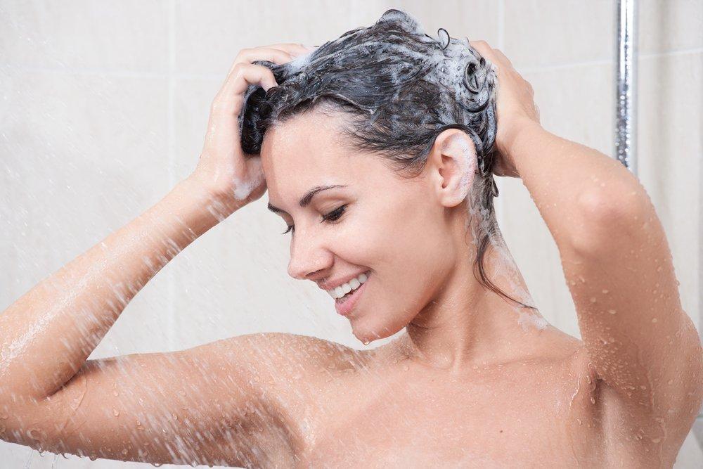 Правильно ополаскивайте волосы