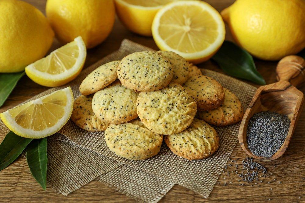Простой рецепт лимонного печенья