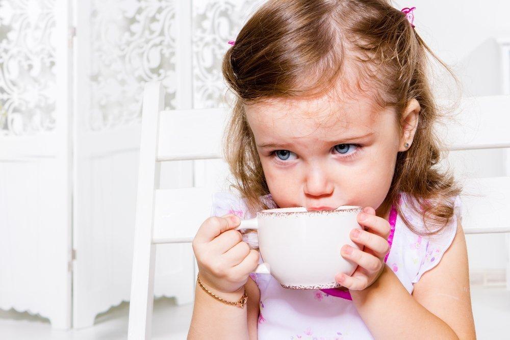 Какой именно чай лучше для детей?