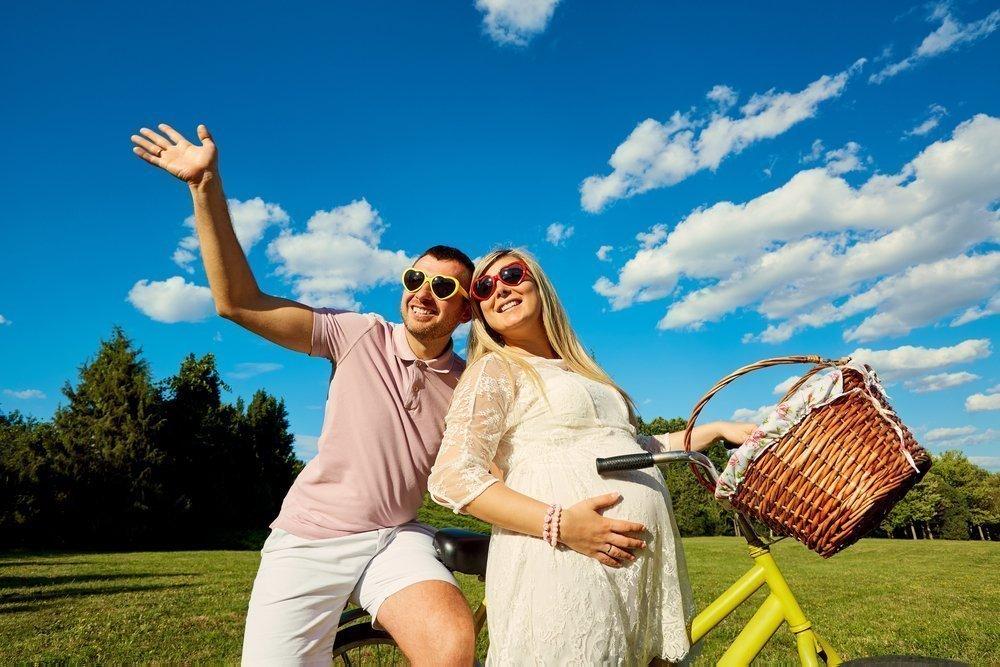 Польза прогулок на велосипеде при беременности