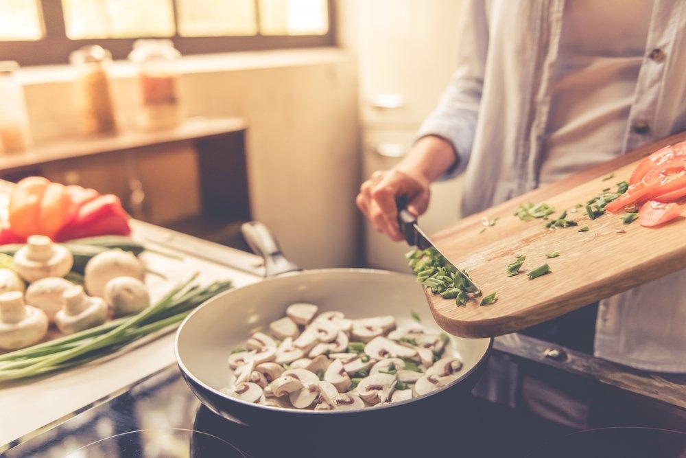 Грибы в рационе питания