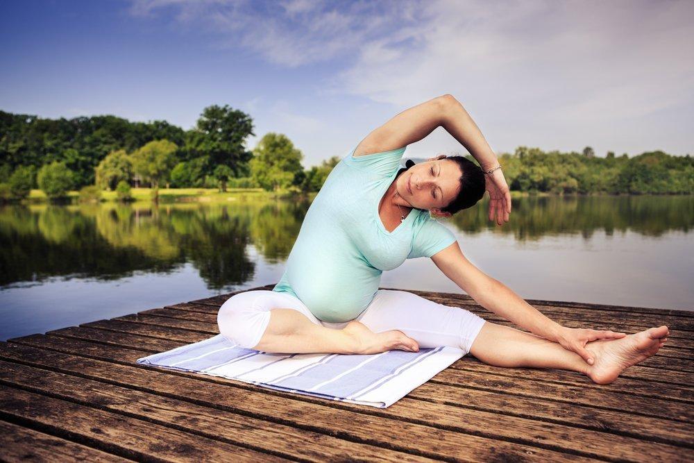 Правила йоги для беременных