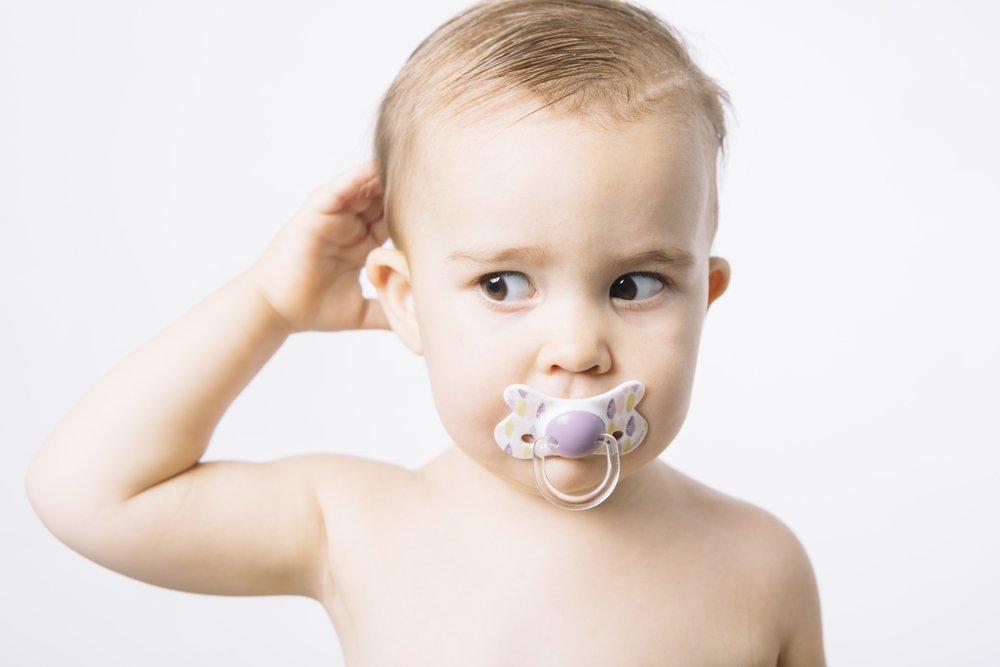 Раннее детство: любимая соска