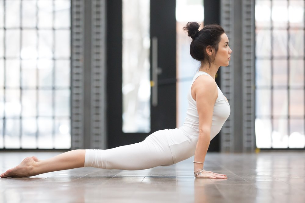 Комплекс растягивающих упражнений