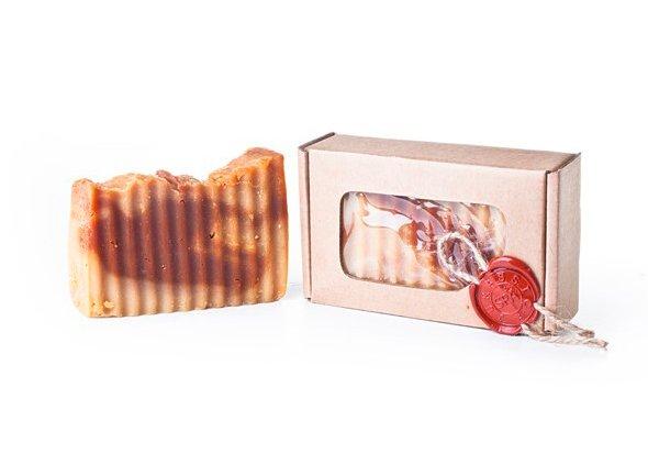 Кастильское мыло Jurassik Spa «Ваниль + корица»